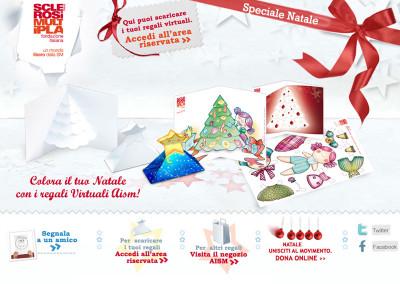 AISM –  Mini Sito Natale