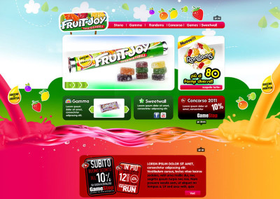 FruitJoy – Mini sito